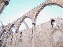 navata sotto il cielo chiesa do Carmo
