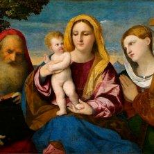 J.Negretti detto Palma il Vecchio - Madonna col Bambino - Pinacoteca Accademia dei Concordi Rovigo