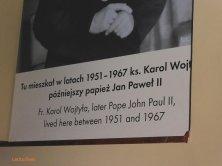 insegna casa Wojtyla