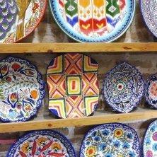 ceramica con colori tradizionali