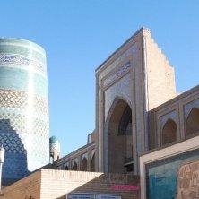 Khiva minareto e costruzioni
