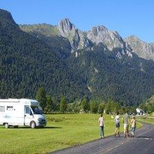 Famille et camping car
