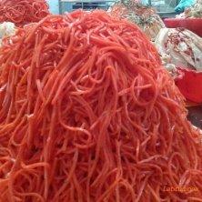 insalata di carote sotto aceto