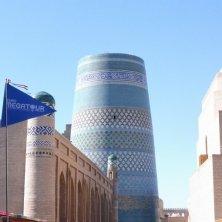 per le strade di Khiva