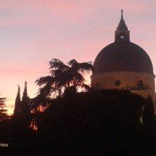 tramonto sull'Eur