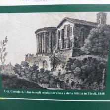 veduta dei templi nell'Ottocento