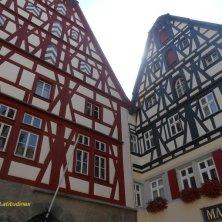 case a graticcio Rothenburg