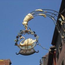 insegna ferro battuto Rothenburg