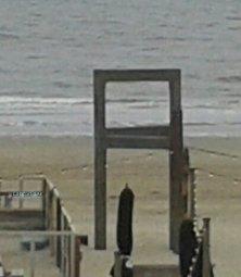 installazione spiaggia Zandvoort