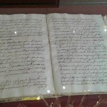 libro esposto nell'omaggio a Caterina al Palazzo Medici Riccardi