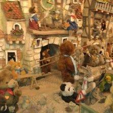 nel negozio del Natale