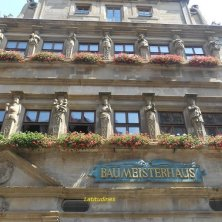 palazzo fiorito a Rothenburg