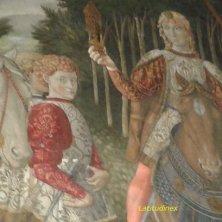 particolare della cappella Medici Riccardi