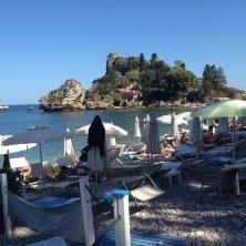 spiaggia e Isola Bella