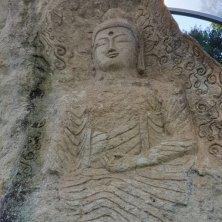Buddha scolpito tempio Golgulsa Gyeongju