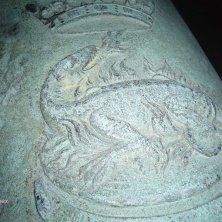 salamandra sul cannone simbolo di Francesco I