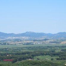 vista sulla Corea del Nord