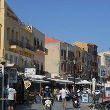 vivacità al porto di Chania