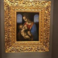 Madonna di Leonardo all'Ermitage