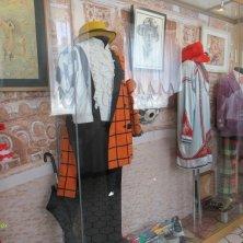 abiti in mostra al museo del circo