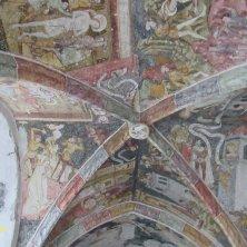 affreschi soffito chiostro Abbazia di Novacella