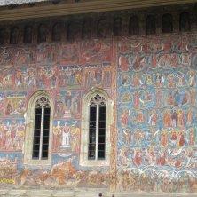 affresco Moldovita monastero Bucovina