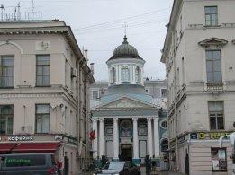 chiesa armena sulla Prospettiva Nevskij San Pietroburgo