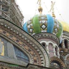 dettagli chiesa Salvatore sul Sangue Versato San Pietroburgo