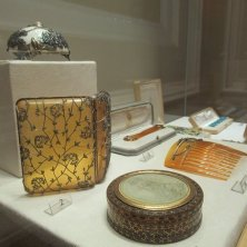 oggetti in mostra museo Fabergé