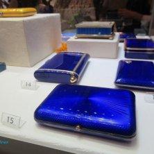scatole blu Fabergé