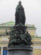 statua di Caterina la Grande San Pietroburgo