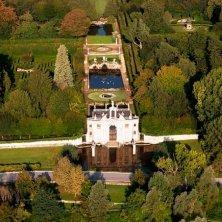 Giardino di Valsanzibio_FotoAerea_ Padiglione_Decumano