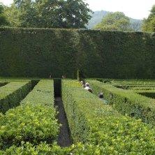 Giardino di Valsanzibio_alle prese con il labirinto_EVallarin