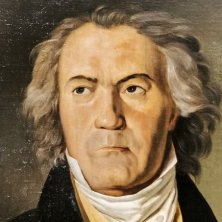 Ritratto di Beethoven dipinto da Ferdinand Georg Waldmüller, 1823 – © WienTourismus Paul Bauer
