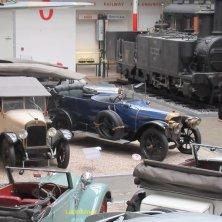 auto d'epoca al museo della Tecnica