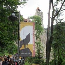 castello di Dracula salita Bran
