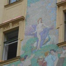decori art nouveau palazzo Praga