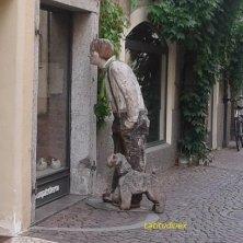 dettaglio buffo a Bressanone