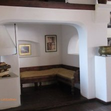 interno castello di Dracula Bran