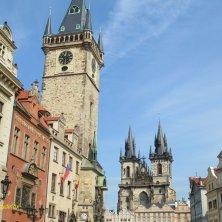 torre dell'Orologio e Santa Maria di Tyn Praga