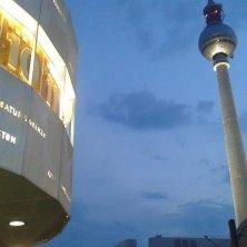 Alexander Platz orologio e torre