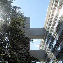 ascensore esterno architettura Hansaviertel