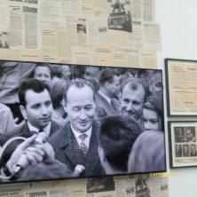 foto di Dubcek al Museo del Comunismo Praga