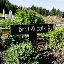 giardino degli aromi erbe hotel Pfoesl