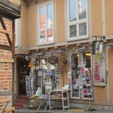 negozio curioso a Quedlinburg