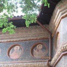 affreschi chiesa Stavropoleos Bucarest