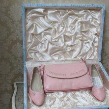 scarpe e borsa Elena Ceausescu