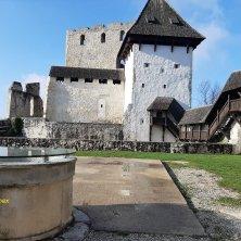 cortile castello di Celje