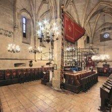 interno sinagoga vecchia nuova