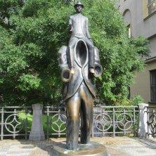 monumento a Kafka quartiere ebraico
